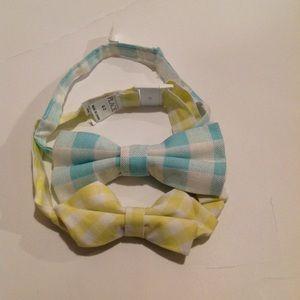 2 Bow ties